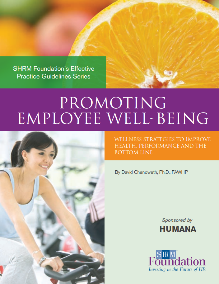 Promoting Employee Well-Being